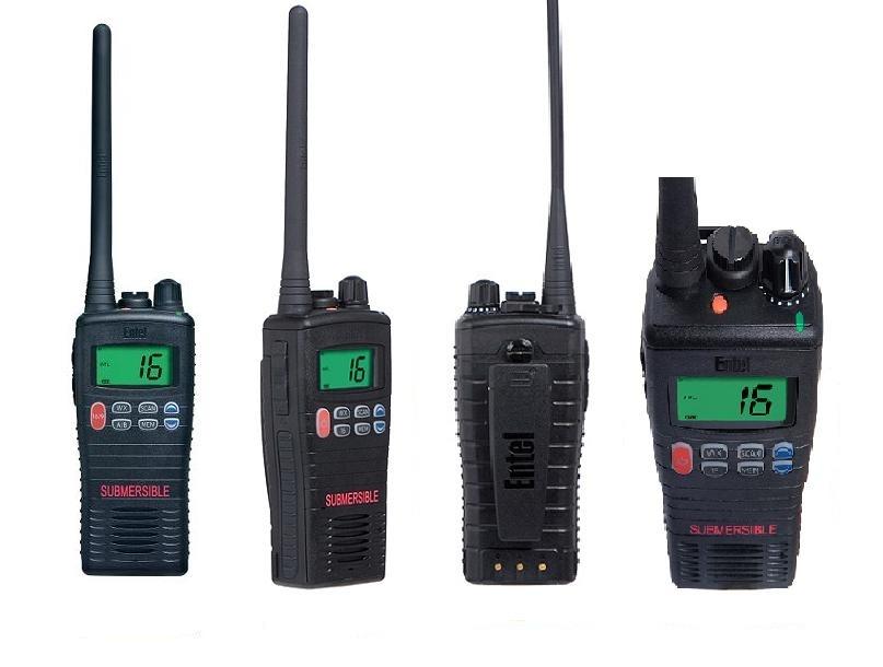 ENTEL HT-20 (IP67) morski radiotelefon VHF - ręczny