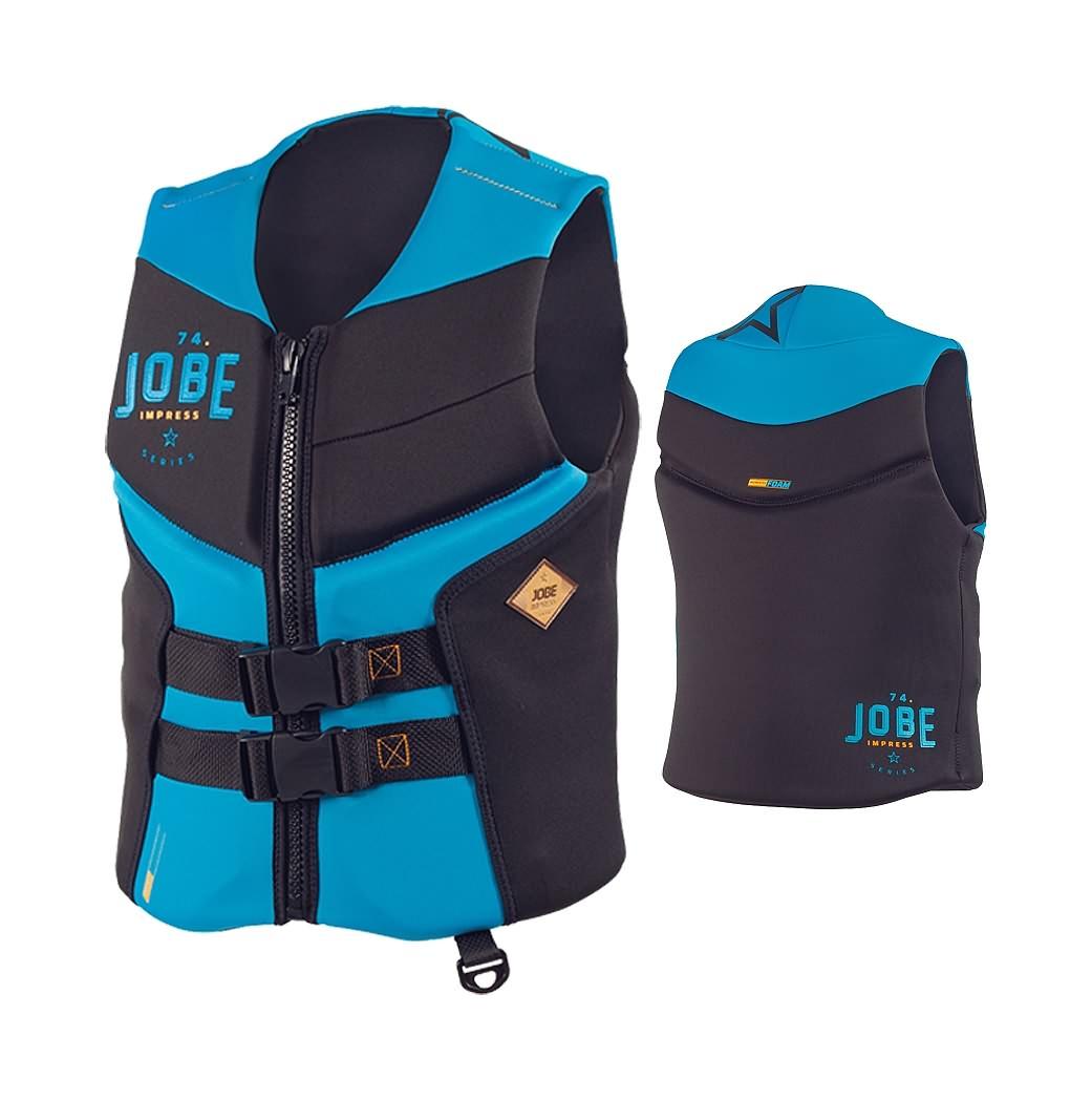 Jobe Sports Impress Segmented Blue - kapok, kamizelka asekuracyjna.
