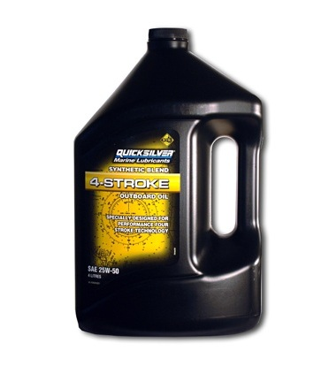 Olej Quicksilver 4-Cycle Engine SYNTHETIC FOR VERADO, SAE 25W50 4 litry