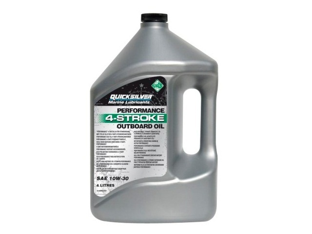 Olej Quicksilver 4-Stroke Outboard Oil SAE 10W30 4 litry
