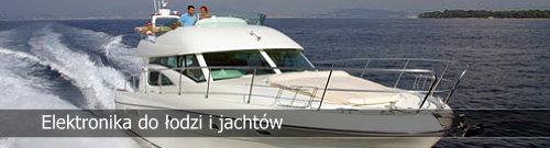 Elektronika i nawigacja na łodzi motorowej i jachcie